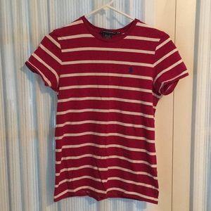 striped Ralph Lauren t-shirt women's medium